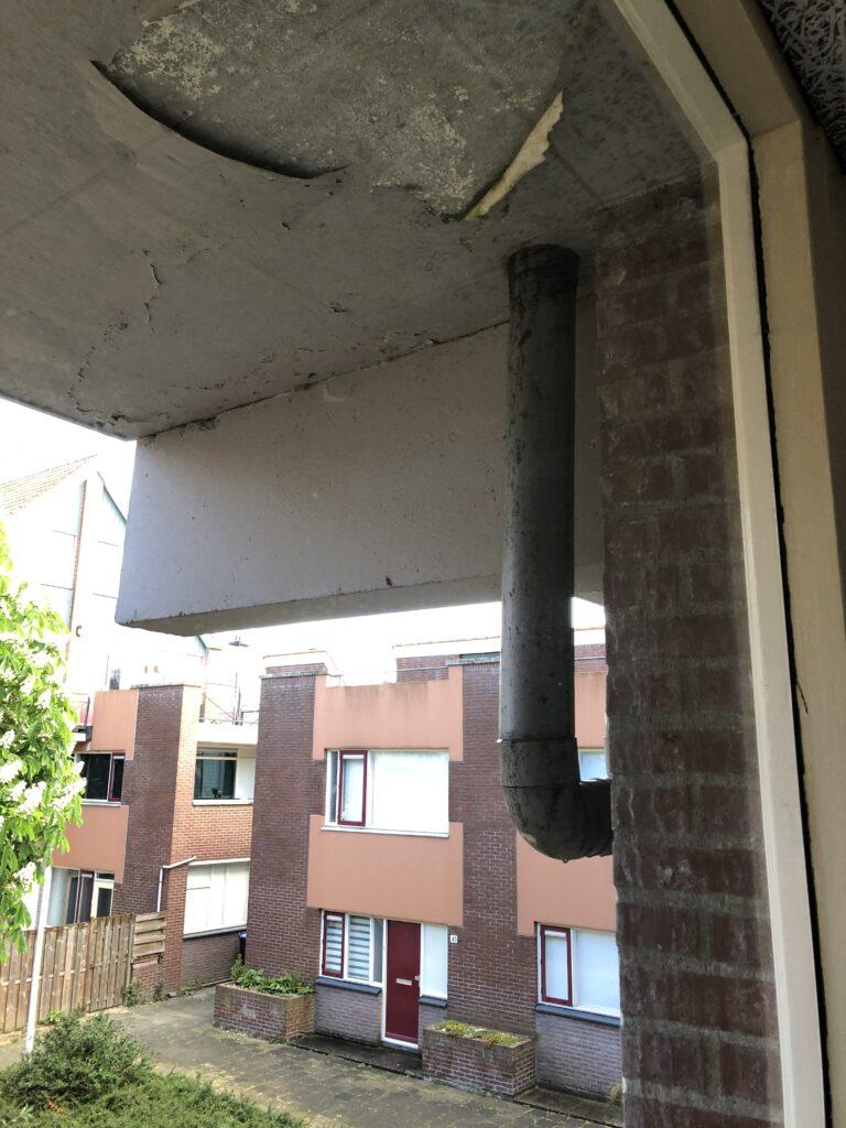 betonelementen en metselwerk